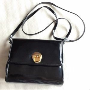 Vintage Frenchy of California patent leather purse